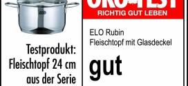 Kochtopfset-Bestseller: ELO Kochtopf Rubin Set Rubin 5-teilig Edelstahl 18/10